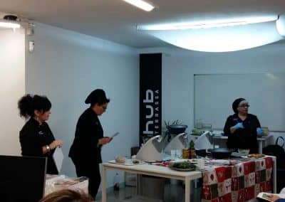 Workshop de receptes nadalenques amb la Thermomix